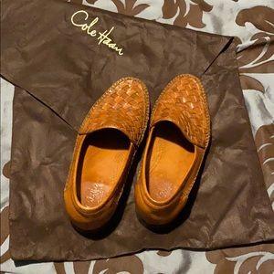 Men's Cole Haan, Italian Leather, Mule Shoes w/bag